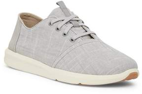 Toms Del Rey Textured Chambray Sneaker