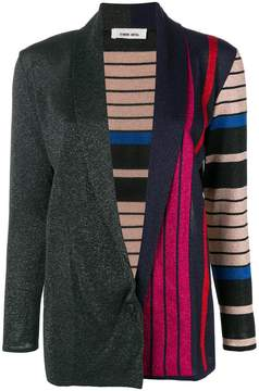 Circus Hotel long line striped cardigan