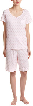 Carole Hochman 2Pc Pajama Short Set