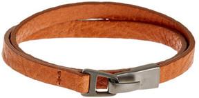 Miansai Moore Leather Wrap Bracelet