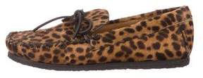 Etoile Isabel Marant Fodih Ponyhair Loafers