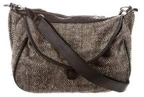 Isabel Marant Leather-Trimmed Crossbody Bag