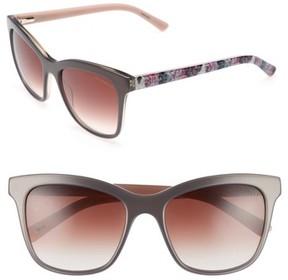 Ted Baker Women's 55Mm Cat Eye Sunglasses - Grey