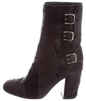 Laurence Dacade Distressed Ankle Boots