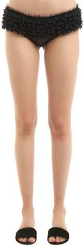 Chantal Thomass Houppette Tulle & Satin Briefs