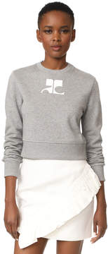 Courreges Fleece Sweater