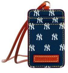 Dooney & Bourke MLB - Yankees ID Lanyard Tag - NAVY BLUE - STYLE