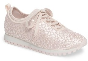 BCBGMAXAZRIA Women's Lynn Sock Fit Woven Sneaker