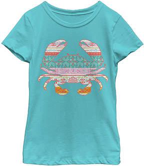 Fifth Sun Tahi Blue Crab Tee - Girls