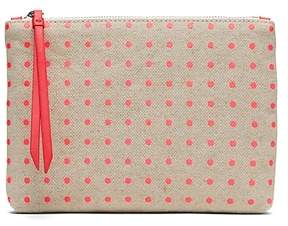 Banana Republic Polka Dot Small Zip Pouch
