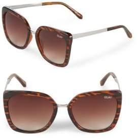 Quay Gradient 63MM Wayfarer Sunglasses