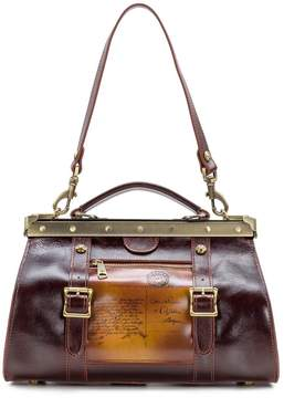 Patricia Nash Discovery Collection Postcard Collina Satchel
