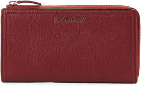 Givenchy Burgundy Continental Leather Wallet