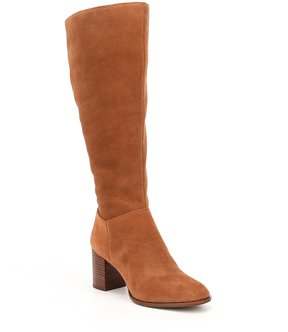 Antonio Melani Dredas Wide Calf Suede Dress Boots