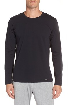 Hanro Men's Living Long Sleeve T-Shirt