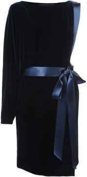 Alexandre Vauthier velvet one shoulder dress