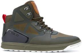Polo Ralph Lauren hi-top panelled sneakers