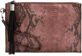 INC International Concepts I.n.c. Molyy Snake Party Wristlet Clutch