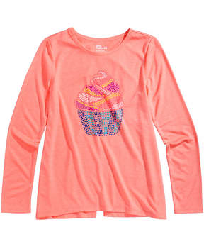 Epic Threads Cupcake-Print Long-Sleeve T-Shirt, Big Girls (7-16), Created for Macy's