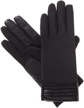 Isotoner Spandex Glove W/ Metallic Cuff with smarTouch Technology