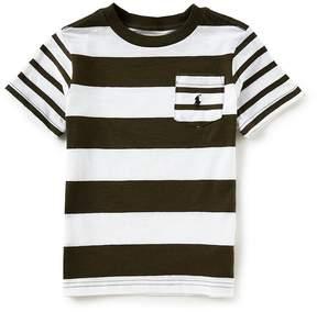 Ralph Lauren Little Boys 2T-7 Short-Sleeve Striped Pocket Tee
