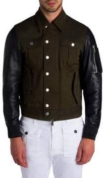 Viktor & Rolf Military Mix Jacket