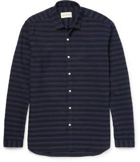 Oliver Spencer Clerkenwell Slim-Fit Embroidered Cotton Shirt