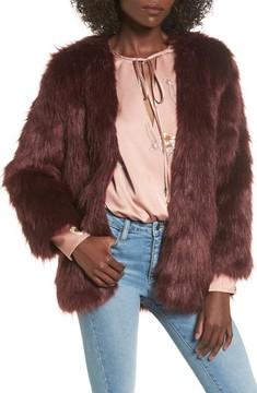 Lovers + Friends Women's Adora Faux Fur Jacket