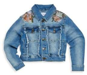 Joe's Jeans Little Girl's Washed Jacket