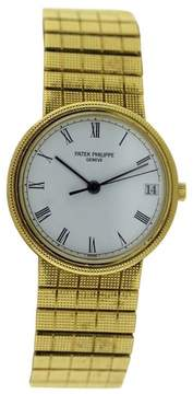 Patek Philippe Calatrava 3802/1J 18K Yellow Gold 33mm Mens Watch