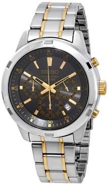 Seiko Neo Sports Chronograph Grey Dial Men's Watch