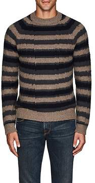 Boglioli Men's Striped Virgin Wool-Cashmere Sweater