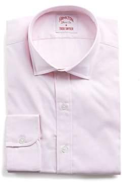 Hamilton Pink Solid Pinpoint Shirt