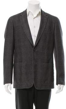 Pal Zileri Wool Glen Plaid Sport Coat
