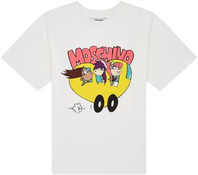 Moschino Bus Characters Maxi T-shirt