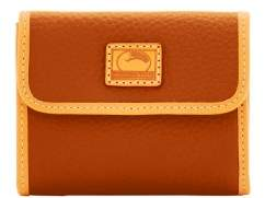 Dooney & Bourke Patterson Leather Small Flap Credit Card Wallet - DESERT - STYLE