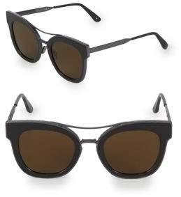 Bottega Veneta 50MM Etched Wayfarer Sunglasses
