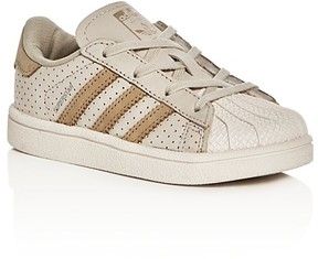 Adidas Boys' Superstar Lace Up Sneakers - Walker, Toddler