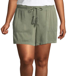 Boutique + + Soft Shorts - Plus