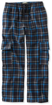 L.L. Bean Boys' Flannel Cargo Pants