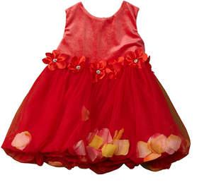 Nanette Lepore Girls' Velour Dress