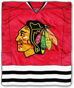 Northwest Company Chicago Blackhawks 50x60in Plush Throw Jersey