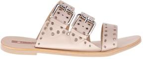 Sole Society Foster Eyelet Slide Sandal