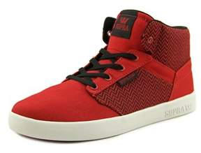 Supra Yorek Hi Round Toe Canvas Tennis Shoe.