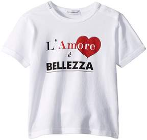 Dolce & Gabbana Love Bellezza T-Shirt Boy's T Shirt