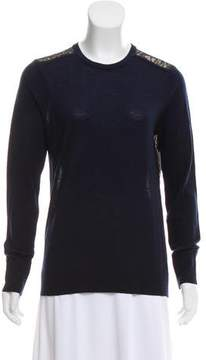 Equipment Lace Crew Neck Sweater