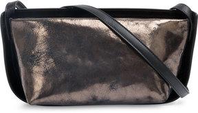 Ann Demeulemeester metallic bicolour shoulder bag
