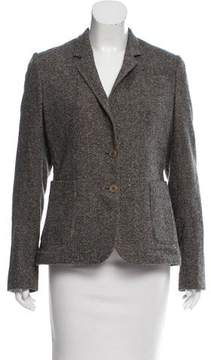 Calvin Klein Collection Tweed Patterned Blazer