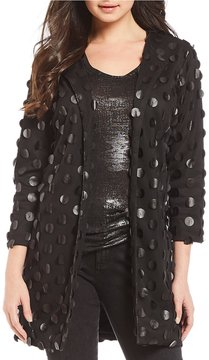 Chelsea & Theodore Textured Topper Jacket