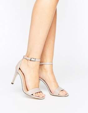 Call it SPRING Ahlberg Blush Two Part Heeled Sandals